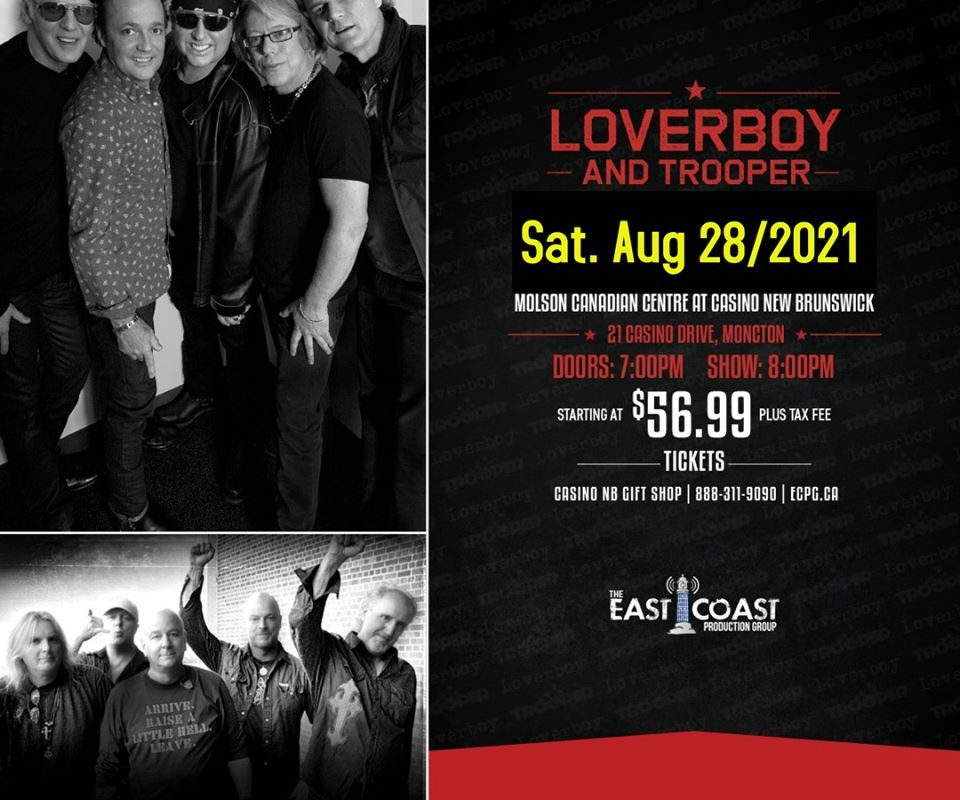 Loverboy casino casino party rentals lowell ma